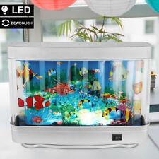 LED Deko Schreib Tisch Kinder- Spiel- Zimmer Lampe Leuchte Aquarium Fisch-Motive