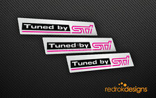 Subaru Impreza Tuned By STI Sticker Kit | Decal | WRX | GC8 | JDM