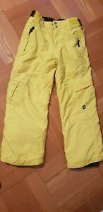 Protest Skihose, gelb, Größe 140