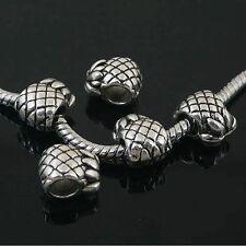 6pcs Tibetan Silver pineapple spacer Beads Fit European charm Bracelet  L0047