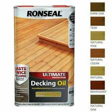 Ronseal ULTIMATE Protection Decking Oil | Waterproof Sun Rain Protector 2.5/5L