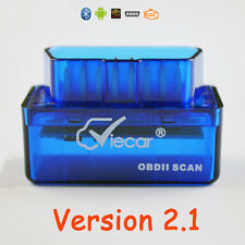 New Mini Bluetooth ELM327 OBD2 II Diagnostic Car Auto Interface Scanner Tool