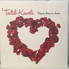 """TALIB KWELI - NEVER BEEN IN LOVE (12"""")  2005!!  RARE!!  JUST BLAZE + JEAN GRAE!!"""