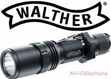 Walther RLS 450 LED Torcia Flashlight 600 Lumen con Holster + 2 batterie