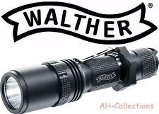 WALTHER RLS 450 LED Taschenlampe Flashlight 600 Lumen mit Holster + 2 Batterien