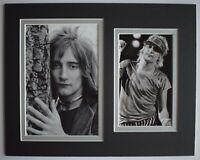 Rod Stewart Signed Autograph 10x8 photo display Music Baby Jane AFTAL COA