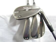 Used Titleist Vokey SM6 Gray (50-08, 54-08, 60-08) Wedge Set Various Shafts