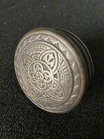 Antique Pair Of Corbin Quadrifold VICTORIAN Eastlake  Cast Bronze Dolor Knobs