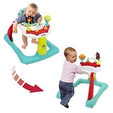 Caminadora Para Bebé Andadera Ajustable Plegable Fácil De Guardar Motricidad