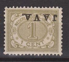 Nederlands Indie Netherlands Indies Indonesie 64f MLH JAVA KOPSTAAND 1908
