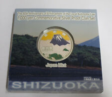 Japan 47 Prefectures Coin Program Shizuoka 1000 yen silver proof coin 2013
