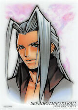 Final Fantasy 7 VII Art Museum Trading Card 7-11 Sp Ed 1 S-02 Sephiroth Portrait
