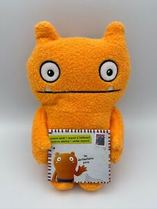 Ugly Dolls Warm Wishes WAGE Orange Plush New w/ Tags