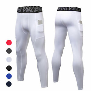Men's Compression Sports Pants-Workout Leggings for Gym,Basketball,Running,Yoga