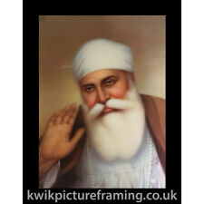Guru Nanak Art Of Punjab 3d Picture Frame In 6 Different Colour Frames