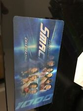 WWE Smackdown 1000 Commemorative 3D Collector Tickets