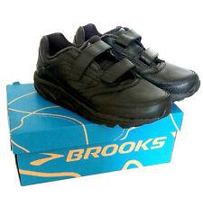 BROOKS Addiction Walker V-Strap Womens Black Running Shoes UK7 US9 2E(X Wide)
