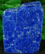 Lapis lazuli crystal mineral specimen hand polished gem stone from afghanistan