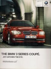 BMW 3-Series Coupe E92 2010-11 UK Market Sales Brochure 320 325 330 335