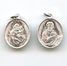 Medaille Heiliger Josef Judas Thaddäus Hl. Joseph St. Jude S. Alu 25 mm MED 3137
