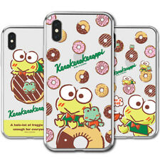 Genuine Keroppi Clear Jelly Case Galaxy Note 10/Note 10 Plus Case 10 Types Case