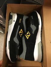 New Balance 1500 Made In England Very Rare Grey Black Gold Suede