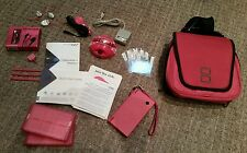 Pink NINTENDO DSi Perfect Condition/Works Perfectly Complete Accessories Bundle!