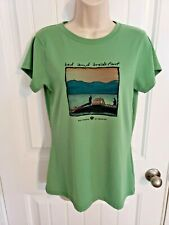 Olive Green Tee Shirt by The American Back Country Size Large
