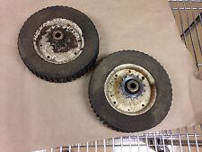 Vintage 8x1.75 geared wheels for self propelled lawn mower Toro-Murray?GoKart