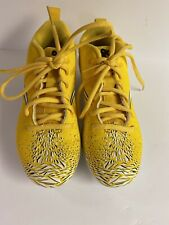 Size 3Y Nike Vapor Boys  Football Cleats Yellow White