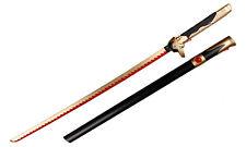 "NEWON Game Overwatch Genji Cosplay 41"" Foam Sword OW Props Weapon W/Sheath"
