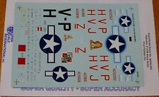 Microscale Decal 1:48 Scale #MS48-940 Republic P-47M: 61st FS/ 56th FG