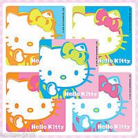 Hello Kitty Stickers x 5 - Party Supplies Favours Andy Warhol - Birthday Lolly