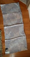 Ann Taylor - Woman's Gray Lavender Shimmer Scarf with cream and pink $59.50