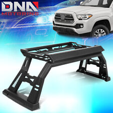 FOR 2005-2020 TOYOTA TACOMA TRUCK BED TOP RACK ROLL BAR + LUGGAGE CARRIER BOX