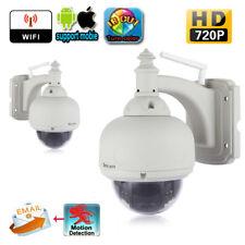 Sricam SP015 720p Inalámbrico 1.0MP H.264 CURVADO WIFI WLAN PT CCTV IP Cámara