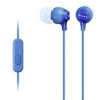 original Sony MDR-EX15 Kopfhörer In-ear Universal Headset zb Samsung Huawei blau