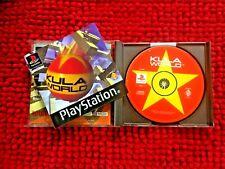 Kula World ** PS 1 ** UK-PAL Version ** komplett mit Handbuch