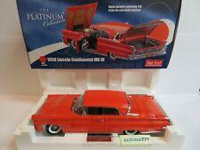 SunStar Platinum 1/18 LINCOLN Continental Mark III 1958 Red DIECAST CAR MODEL