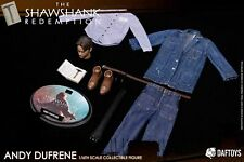 DAFTOYS 1/6 Andy Dufresne The Shawshank Redemption Costume Set W/Head carving