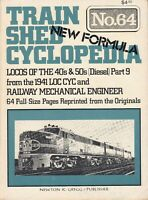 TRAIN SHED CYCLOPEDIA 64 ~ 1977 Locos of the 40s 50s Railway Mechanical Engineer