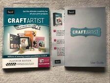 Serif CraftArtist Platinum Edition 5 Discs For Windows 7 Vista or XP