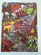 Grateful Dead Backstage Pass Complete Puzzle Rainforest small poster sized