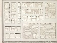 4BOT-Industries Catacomb Walls Terrain Mold W33 Dwarven Forge Hirst Arts D&D