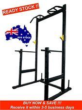 GoFlex Pro Squat Rack w/ Chin Up Bar Bench Press Squats Home Gym Weightlifting