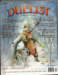 The Duelist The Official Deckmaster Magazine #5 - 1995