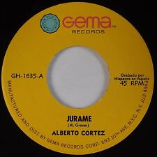 ALBERTO CORTEZ: Jurame / La Minifalda GEMA Latin 45 NM-