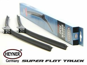 "SCANIA SERIE R SUPER FLAT commercial windscreen WIPER BLADES 28''28"" 700MM"