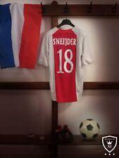 Ajax Home Shirt 2005/06 *SNEIJDER 18* Large Vintage Rare
