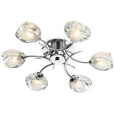 Dar Zagreb ZAG0650 Polished Chrome Ceiling Light Sale Offer £90